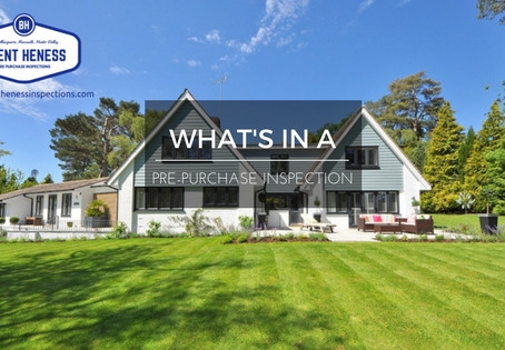 What is in a Pre-Purchase Inspection?