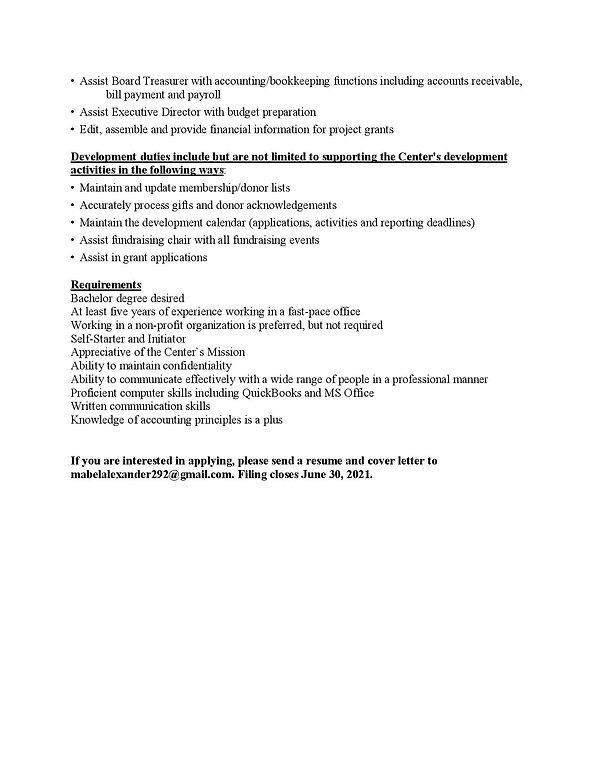 Office Manager Position 2021-pg 2 new da