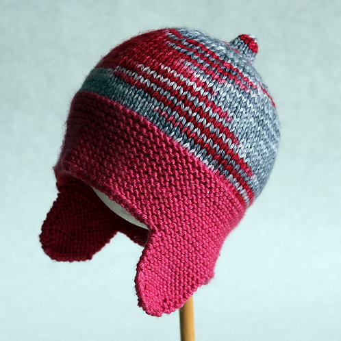 Vintage Pink Racing Helmet - Size 6M-12M