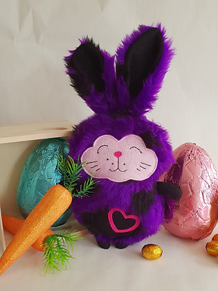 Purple Polka Bunny
