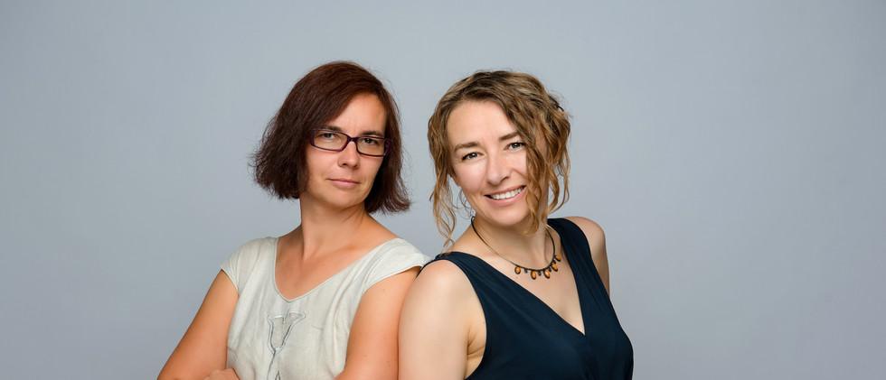 Ania Huminiak i Ania Kudarewska