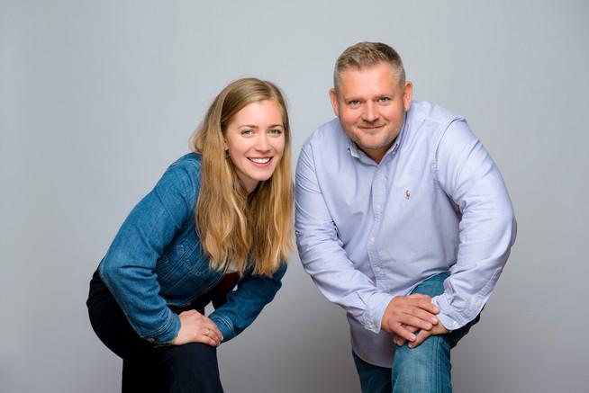 Charlotte Popiela und Simon Kopiecki