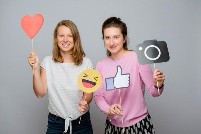 Olga Krajewska und Magdalena Zatylna