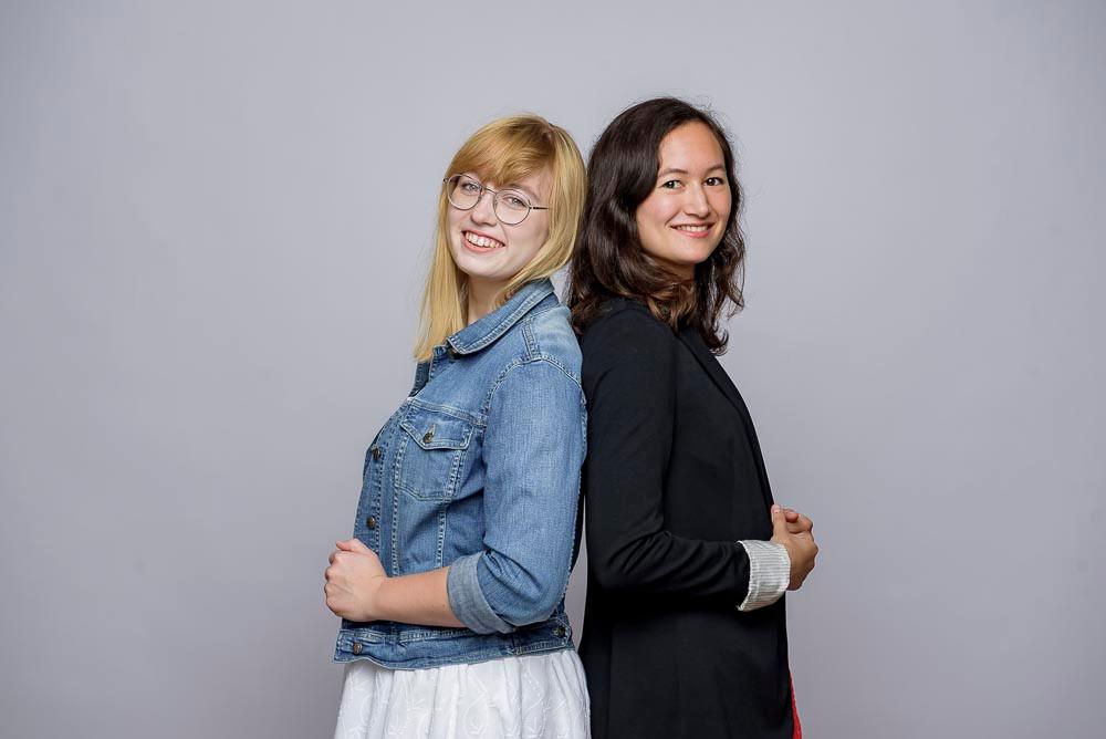 Julia Stelniec und Mariko Dehn