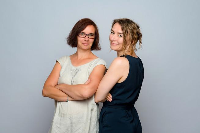 Anna Huminiak und Anna Kudarewska