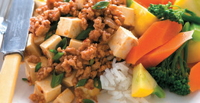 Healthy Food Guide Ginger pork and tofu