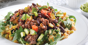 Healthy Food Guide: Vege-full chilli with corn quinoa