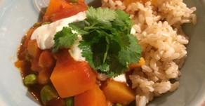 Veggie-full curry