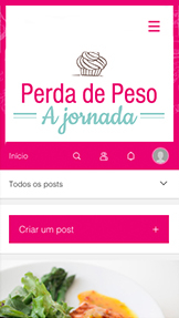 Blogs e Fóruns website templates – Blog Vida Saudável