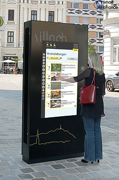 Digitale Infotafel - Smart Alliance GmbH - Villach