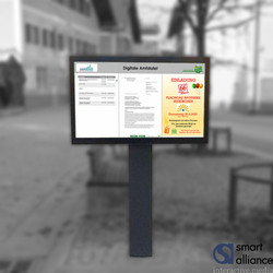 "Outdoor 46"" OD46FQ Querformat Freisteher"