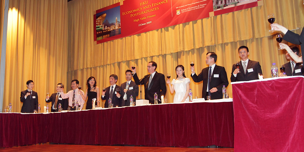 High Table Dinner 2009