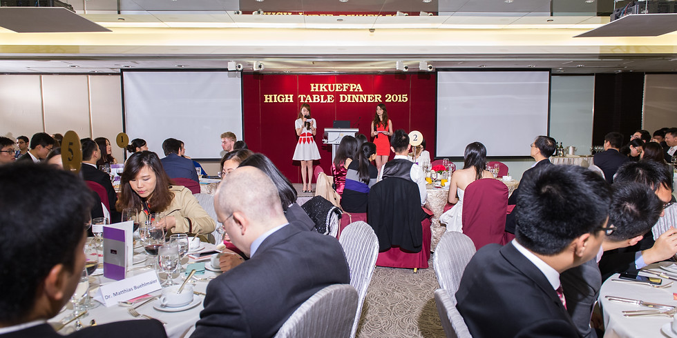 High Table Dinner 2015