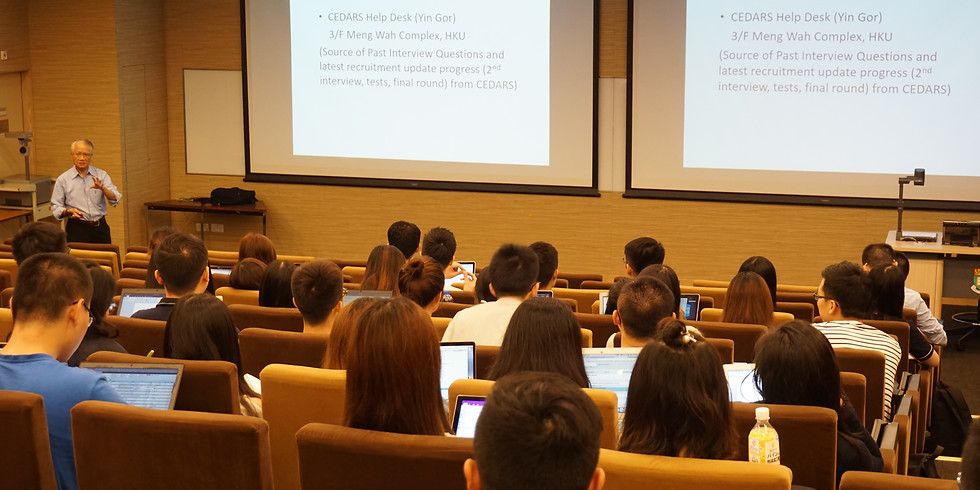 Career Talk Series - Introduction to Investment Banking Application