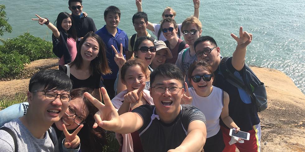 Hiking in Cheung Chau