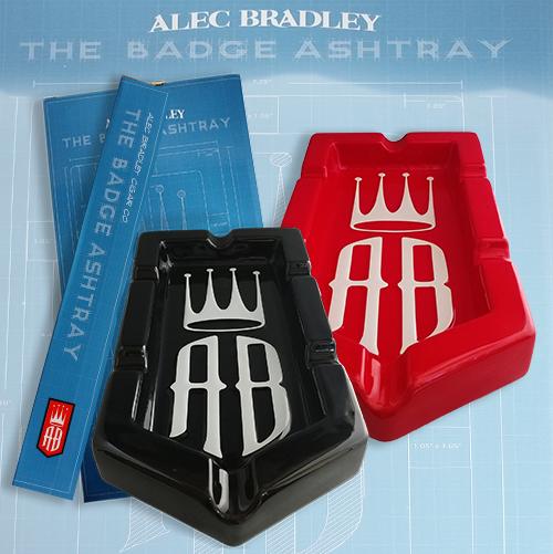 Alec Bradley Badge Ashtray