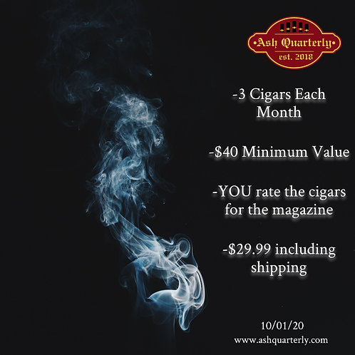 Monthly Cigar Rating Club