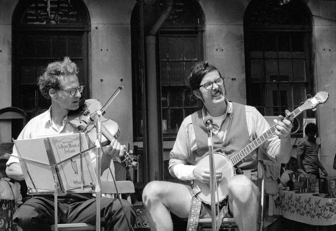 Musicians in Faneuil Hall