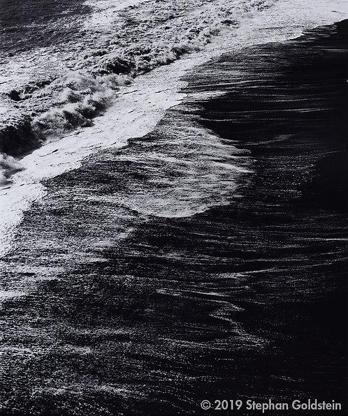 Surf Detail, Dyrholáey, Iceland