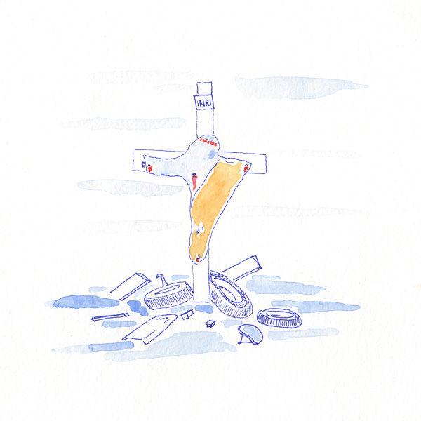 Station 12 – Jesus dies on the cross