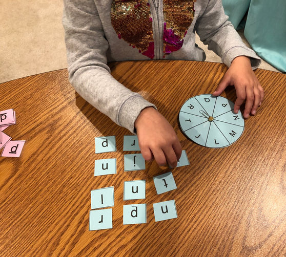 language arts - upper and lowercase letter match