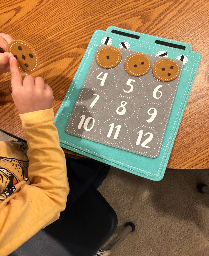 math - number recognition and subitizing