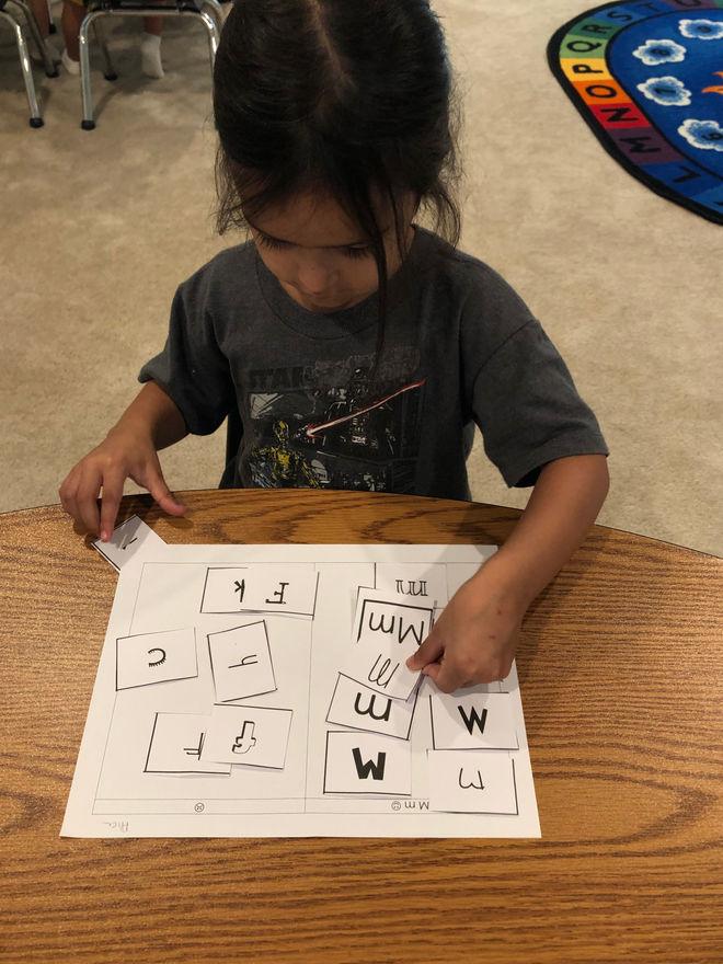 language arts - visual discrimation
