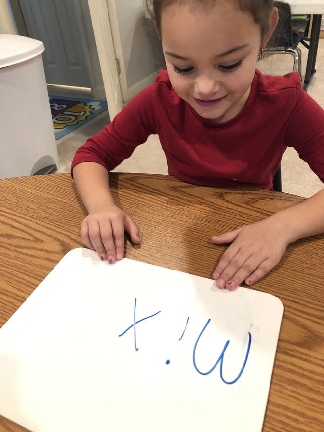 blending sounds to read words