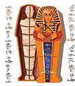 pharaoh-mummy-cartoon-vector-illustratio