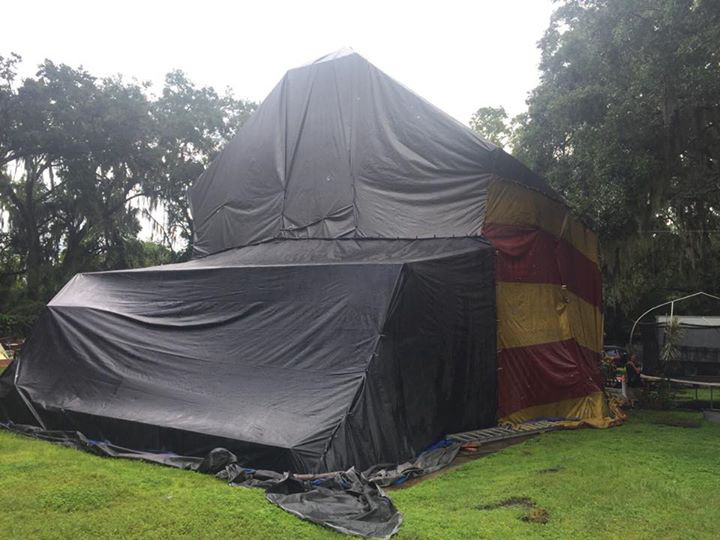 Tent House 4