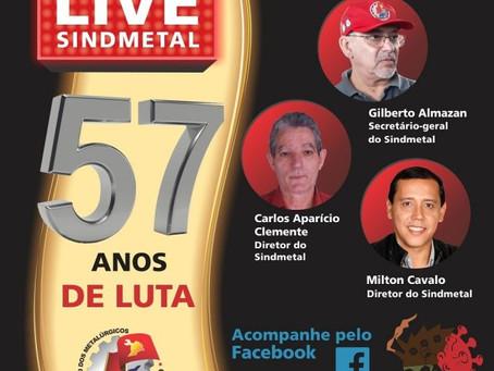 Osasco: 57º aniversário do Sindicato será marcado por 'live' nesta quinta-feira