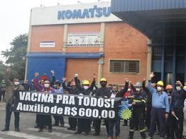 Guarulhos: Sindicato presente no Dia Nacional de Lutas