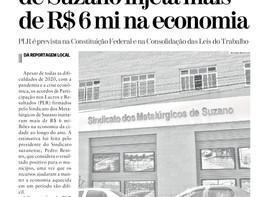 PLR dos metalúrgicos de Suzano injeta mais de R$ 6 milhões na economia local