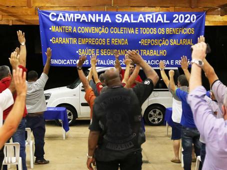 Metalúrgicos de Piracicaba iniciam a Campanha Salarial 2020