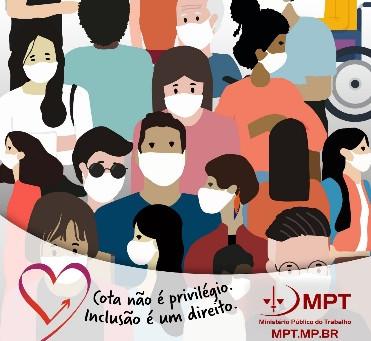 MPT lança nova campanha pela inclusão de Pessoas com Deficiência