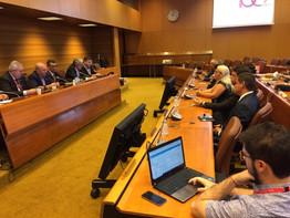 Sindicalistas brasileiros participam da 108ª Conferência Internacional da OIT em Genebra (Suíça)
