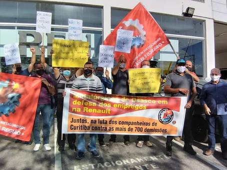 Osasco: Sindicato faz ato de solidariedade