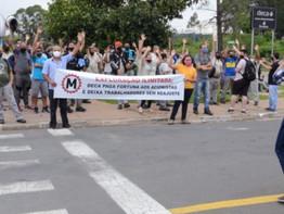 Jundiaí: Na Deca Metais, trabalhadores reivindicam aumento salarial e garantia dos direitos
