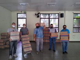 Osasco: Mais de 11 toneladas de alimentos são doadas pela campanha Metalúrgicos contra a Fome