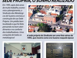 Suzano: Sindicato comemora 30 anos