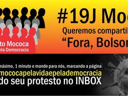 """Mococa: Sindicato lança #19J Mococa pelo """"Fora Bolsonaro!"""""""