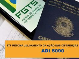 RESUMO AÇÃO FGTS (TR) - ADI 5090 STF
