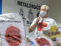Campanha Vacina no Braço - Comida no Prato arrecada 5,5 toneladas de alimentos em Suzano