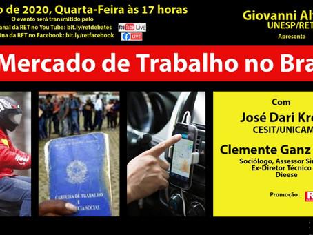 Live: O Mercado de Trabalho no Brasil