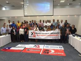 CNTM participa de reunião regional da IndustriAll sobre indústria de manufatura