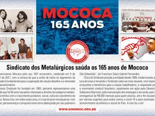 Metalúrgicos saúdam aniversário de Mococa – 5 de abril de 2021