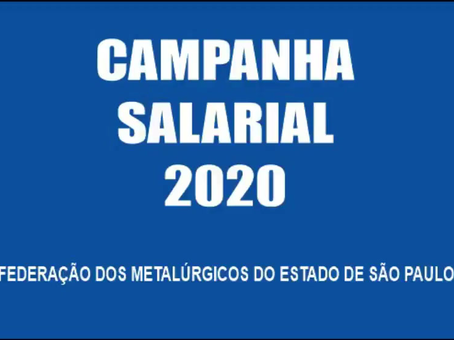 Campanha Salarial 2020 - vídeo