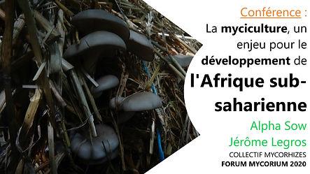 Conférence La myciculture, un enjeu pour