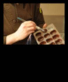La chocolaterie et ses chocolats artisanaux