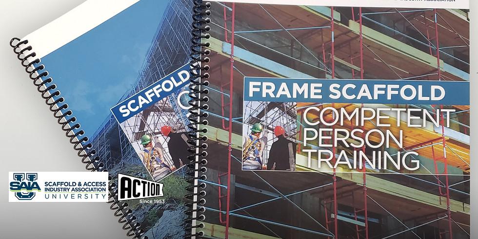 SAIA Frame Scaffold Competent Person Training